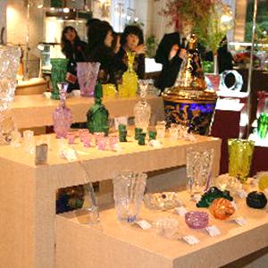 Czech glass presentation in Tokyo
