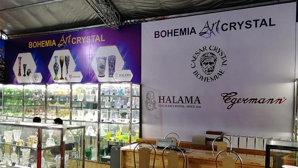 Advertising event in Vietnam | Halama Glass
