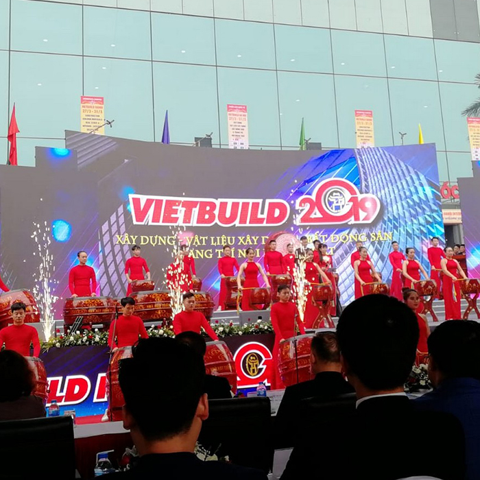 Advertising event in Vietnam