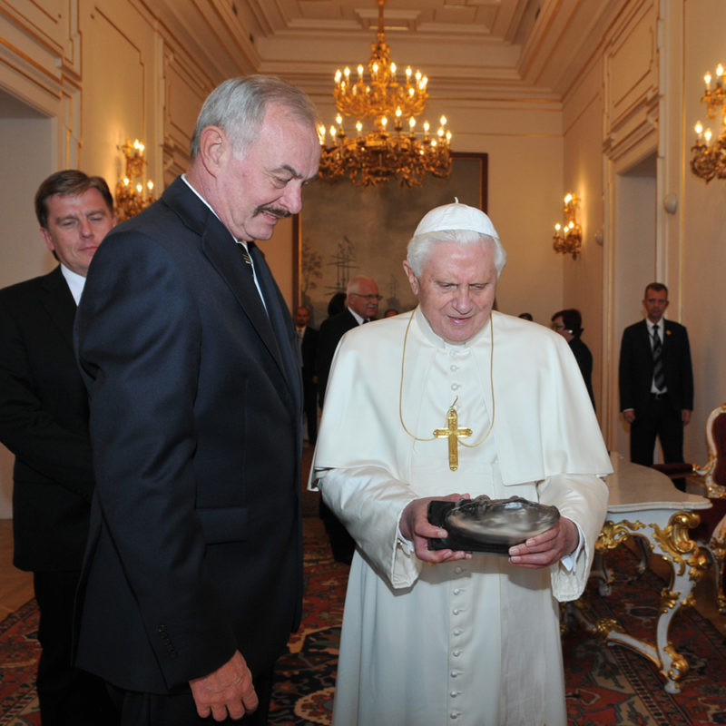 Gift for Pope Benedict XVI